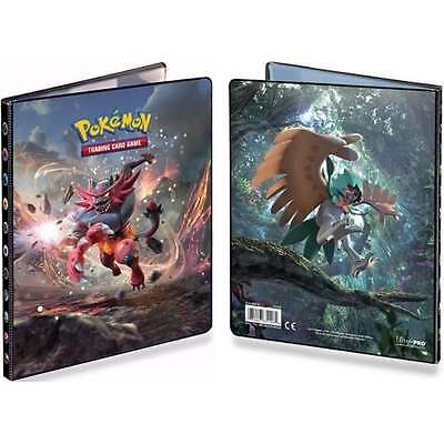 ULTRA PRO POKEMON SUN MOON 4-Pocket Portfolio Card Album Folder A4 Holds 80 Card