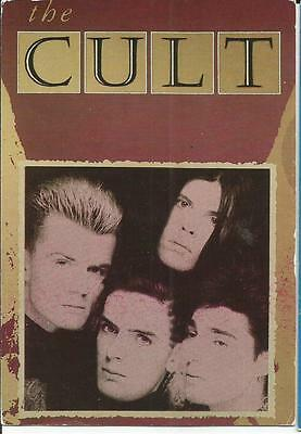Postcard - The Cult, Posted In 1988