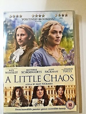 A Little Chaos Brand New Sealed Genuine Uk Dvd