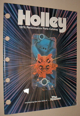 1976 Holley Performance Parts Catalog
