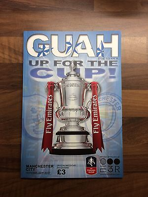Huddersfield Town v Manchester City Programme - 18/02/2017 - FA Cup 5th Round!