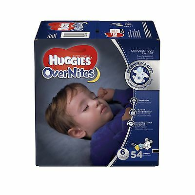 Huggies Overnite Diapers Step 6 Giga Pack 54-Count Step 6, 54-Count