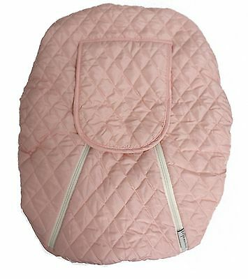 Mint Marshmallow Baby Car Seat Cover Pink