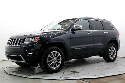 2015 Jeep Grand Cherokee Limited 4WD Limited 4X4 V6 Nav R Camera Lthr Htd Seats Pwr Moonroof 14K Must See Save