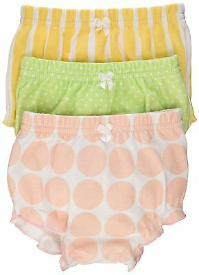 Baby Aspen Bunch O' Bloomers Set of 3 0-6 Months Multi