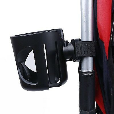 Stroller Cup Holder - Mightyhand Drink Bottle Holders with Carabiner Clip Han...