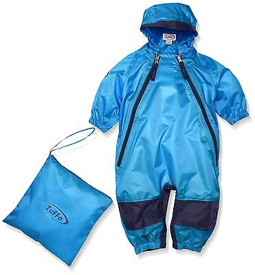 Tuffo Unisex Baby Infant Muddy Buddy Coverall Blue 18 Months