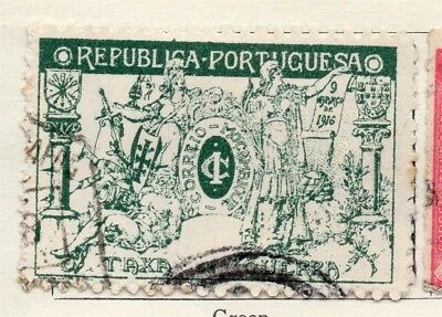 Mozambique 1916 Early Issue Fine Used 1c. 130449
