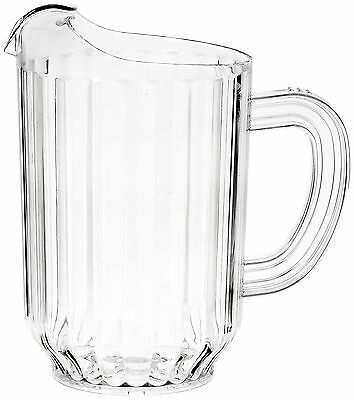 New Star 46106 Polycarbonate Plastic Restaurant Water Pitcher 60-Ounce Clear