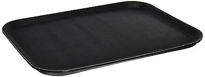 Winco Easy Hold Rectangular Tray 14-Inch by 18-Inch Black