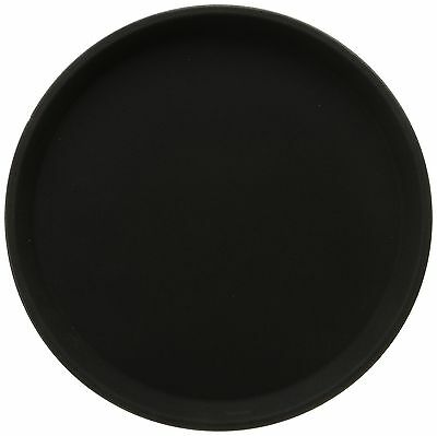 Winco Easy Hold Round Tray 11-Inch Black