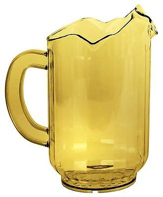 Crestware Three Spout 60-Ounce Amber Pitcher