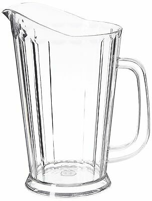New Star 46144 Polycarbonate Plastic Tapered Style Restaurant Water Pitcher 6...