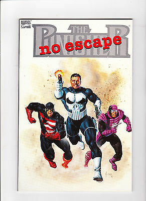 comic books Punisher No Escape - Mint - News Stand Edition