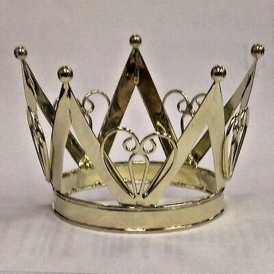 Mini Crown Gold Finish Queen Of Hearts Nwt