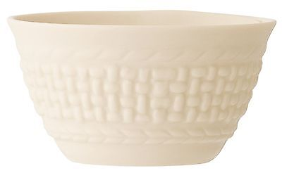Galway Weave 4093 Condiment Bowl 4-Inch Ivory