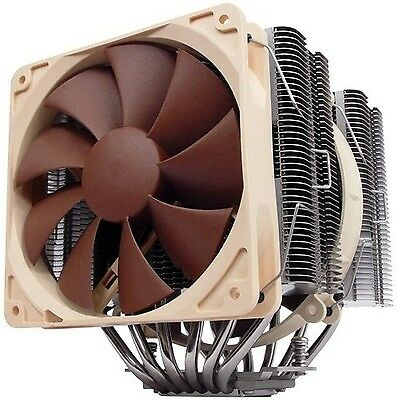 Noctua NH-D14 6 Dual Heatpipe with 140 mm/120 mm Dual SSO Bearing Fans CPU Co...