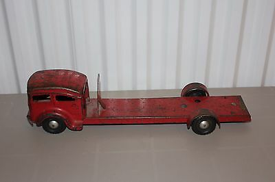 Lincoln Toys Of Canada Fire Truck For Parts Or Restore