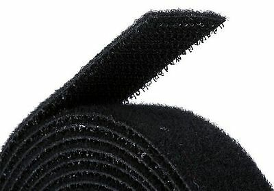 Monoprice 105828 0.75-Inch One Wrap Hook and Loop Fastening Tape 5 Yard/Roll ...