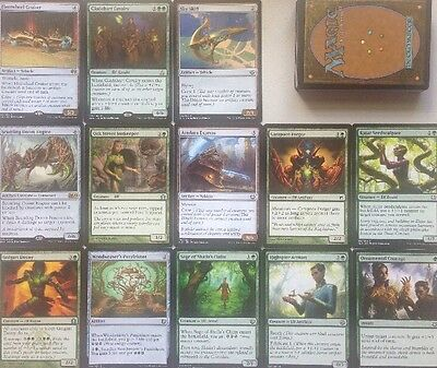 Instant ELF Artificer Artifact Vehicle DECK! Ready To Play 60 Cards Mtg Green