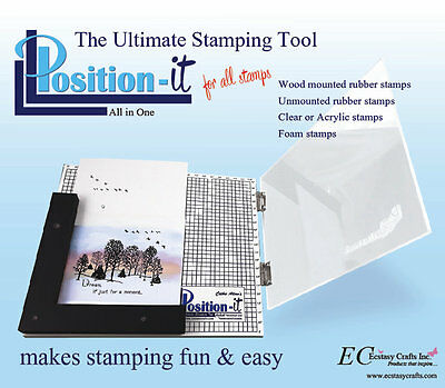 The Position It 2 The Ultimate Stamping Tool by Ecstasy Crafts, ECP001 ~ NIB