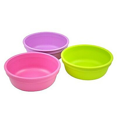 Re-Play Bowls Purple/Green/Bright Pink 3-Pack