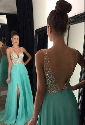 Long Wedding Ball Gown Party Prom Dresses Bridesmaid Dress Evening Formal Dress