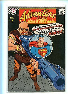 Adventure Comics #358 Hi Grade Dramatic Cover Gem