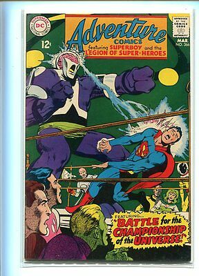 Adventure Comics #366 Hi Grade Epic Battle Cover Gem