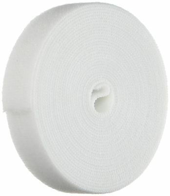 Monoprice 105829 0.75-Inch One Wrap Hook and Loop Fastening Tape 5 Yard/Roll ...
