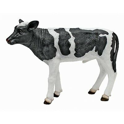 Toscano Acorn Hollow Cow Standing Statue (2 Pack)
