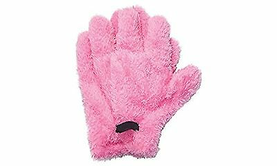 Z-COMFORT New Premium Quick-Dry Microfiber Hair Drying Glove Pink