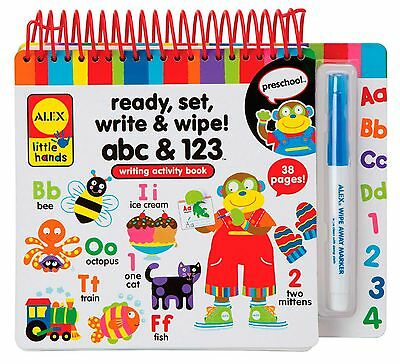 Alex Toys Little Hands Ready Set Write and Wipe!