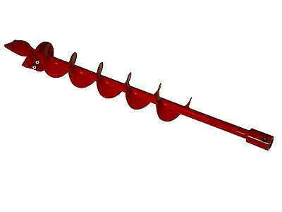 """Earthquake EA4F 4"""" Diameter Earth Auger with Fishtail Point 36"""" Long"""