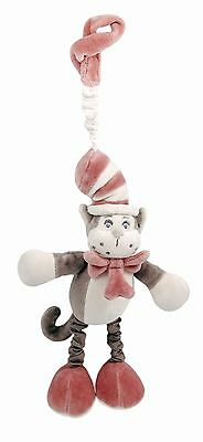 miYim Plush Stroller Toy Grey Dr. Seuss Cat in the Hat