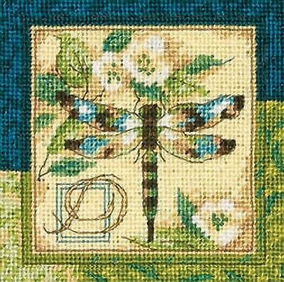Dimensions Needlepoint Kit Dragonfly