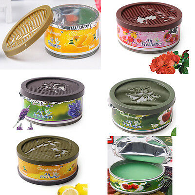 4 Flavor Solid Scents Home Car Air Freshener Organic Deodorizing Fragrance
