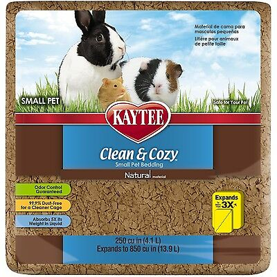 Kaytee Clean and Cozy 250 cu. in. Pet Bedding Small Natural