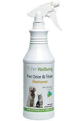 Pet Wellbeing - Pet Odor & Stain Remover - 32oz