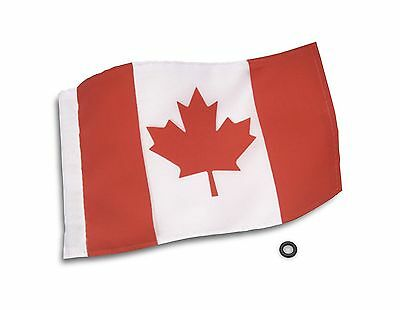 Show Chrome Accessories 4-240CN 6-Inch x 9-Inch Canadian Flag