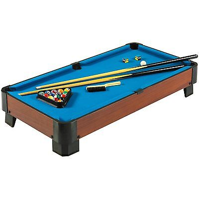 Hathaway Sharp Shooter Pool Table (Blue 40-Inch)