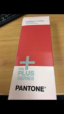 Pantone formula guide Plus Series GP1601 New Solid Coated And Uncoated