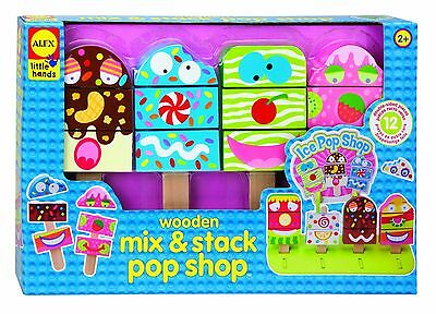 ALEX Toys - Early Learning Wooden Mix & Stack Pop Shop - Little Hands 1482