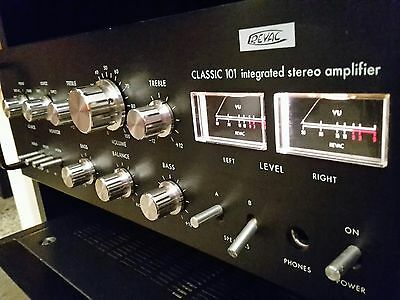 Revac Classic 101 Integrated stereo amplifier