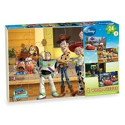 Disney 4-pack Wooden Puzzles by Disney