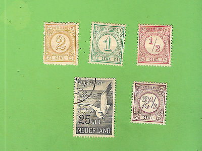 #d291. #6. Small Lot Of Stamps - Netherlands