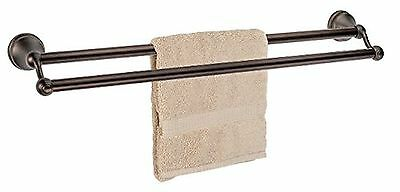 """Dynasty Hardware 5016-ORB Brentwood 24"""" Double Towel Bar Oil Rubbed Bronze"""