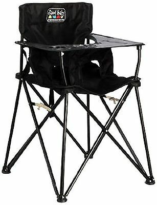 Ciao!Baby Portable High Chair Black 1 Pack