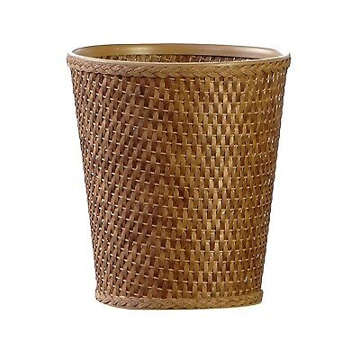 LaMont Home Carter Round Waste-Basket Cappuccino