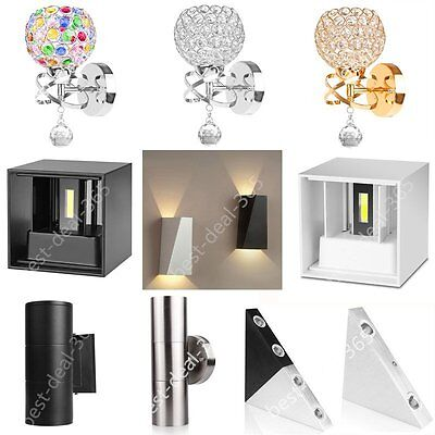 Modern LED Wall Light Up Down Indoor Outdoor Sconce Lighting Lamp Home Bedroom
